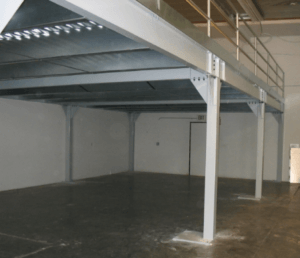 STRUCTURAL WAREHOUSE MEZZANINE