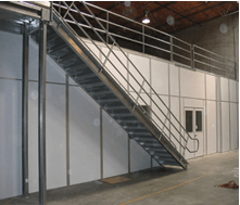 Free-standing Structural Mezzanines