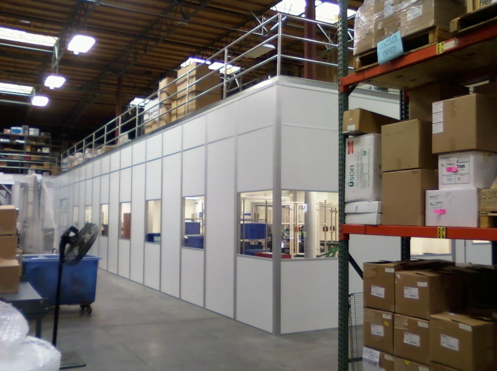 Modular Warehouse Offices | Prefab Offices | Custom In-Plant