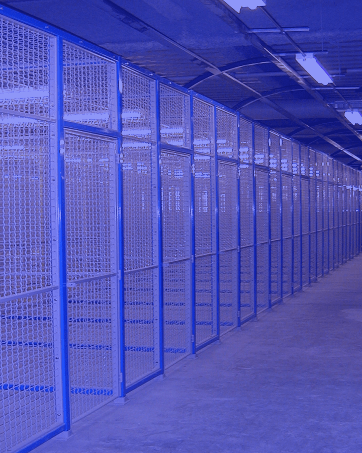 Wire Partitions Amp Security Cages From Industrial Products